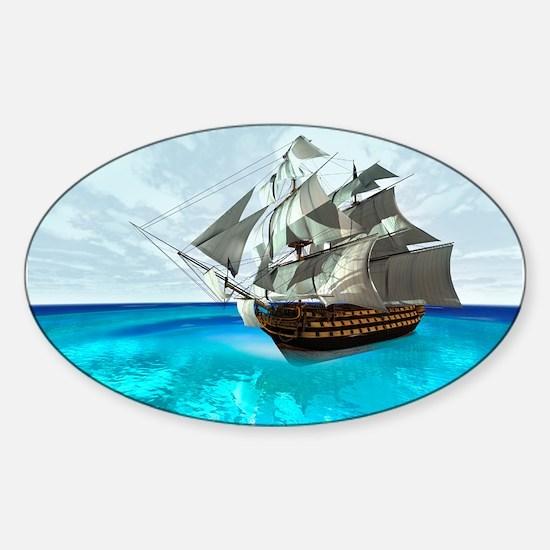 Sailing Ship Decal