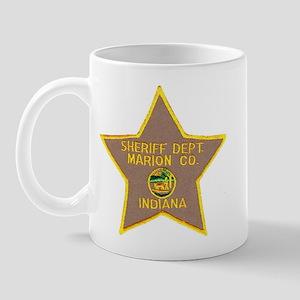 Marion Sheriff Mug