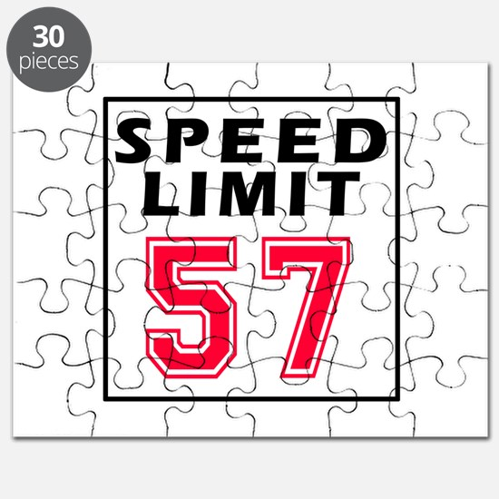 Speed Limit 57 Puzzle