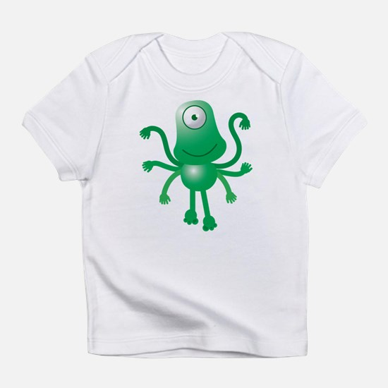 Cute Six armed ALIEN Infant T-Shirt