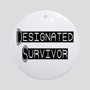 Designated Survivor Ornament (Round)