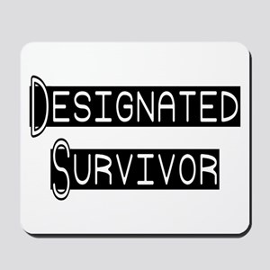 Designated Survivor Mousepad