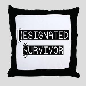 Designated Survivor Throw Pillow