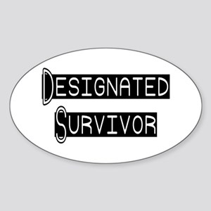 Designated Survivor Oval Sticker
