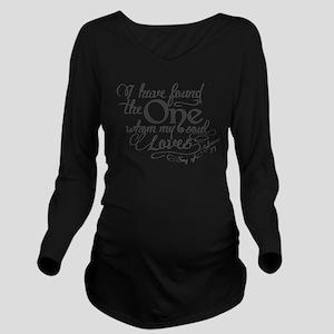 Song of Solomon Long Sleeve Maternity T-Shirt
