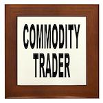Stock Trader Framed Tile