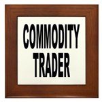Stock Trader Framed Tile