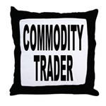 Stock Trader Throw Pillow