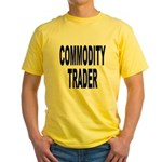 Stock Trader Yellow T-Shirt