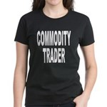 Stock Trader (Front) Women's Dark T-Shirt