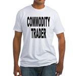 Stock Trader Fitted T-Shirt