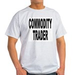 Stock Trader Ash Grey T-Shirt