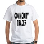 Stock Trader (Front) White T-Shirt