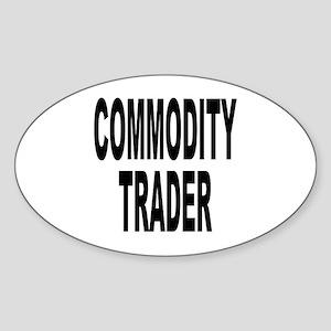 Stock Trader Oval Sticker