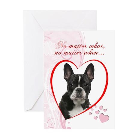 Frenchie Valentine Card