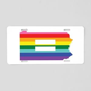 Pennsylvania equality Aluminum License Plate