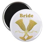 Champagne Bride Magnet