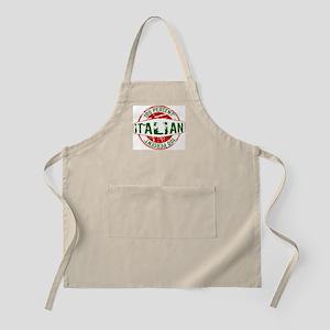 100 Percent Italian - Guaranteed Certified % Apron
