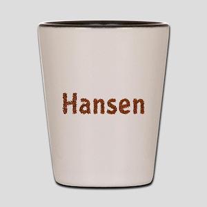 Hansen Fall Leaves Shot Glass