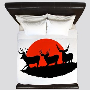 Shadow bucks King Duvet