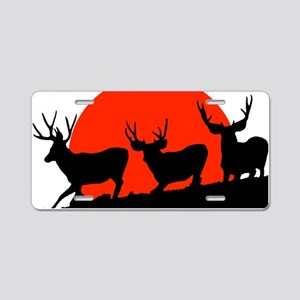 Shadow bucks Aluminum License Plate