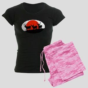 Shadow bucks Women's Dark Pajamas