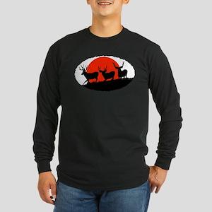 Shadow bucks Long Sleeve Dark T-Shirt
