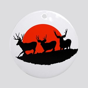Shadow bucks Ornament (Round)