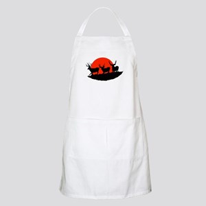 Shadow bucks Apron
