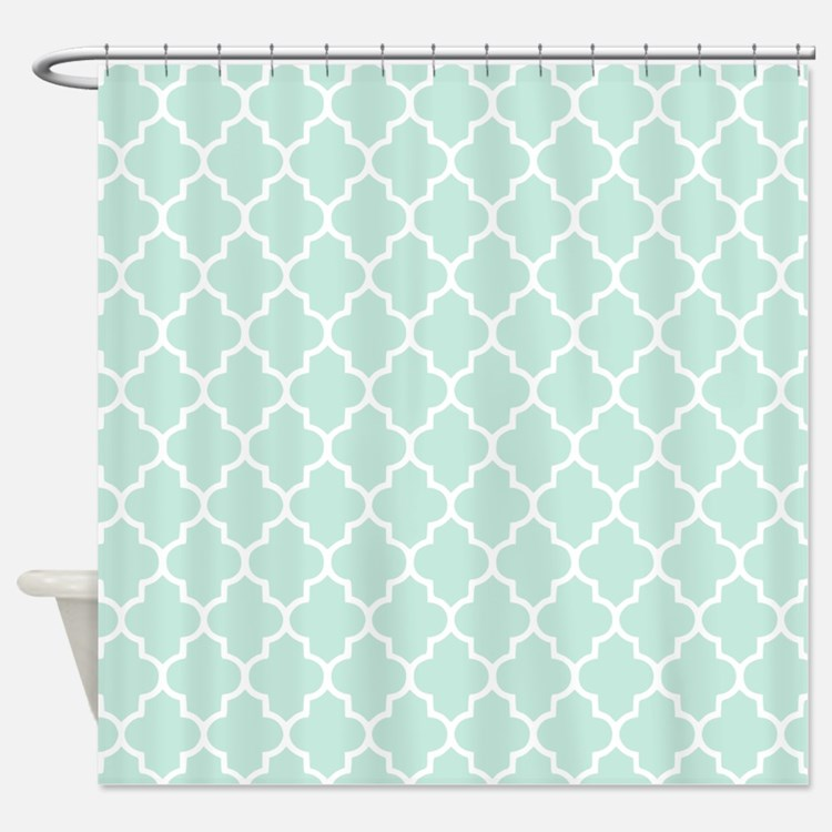 Popular 43 Mint Shower Curtain