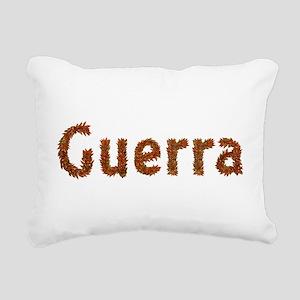 Guerra Fall Leaves Rectangular Canvas Pillow