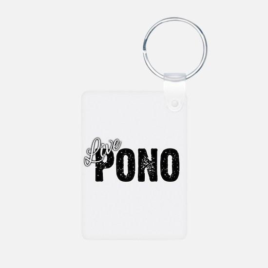 Live Pono Keychains