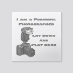 FORENSIC PHOTOGRAPHER Sticker