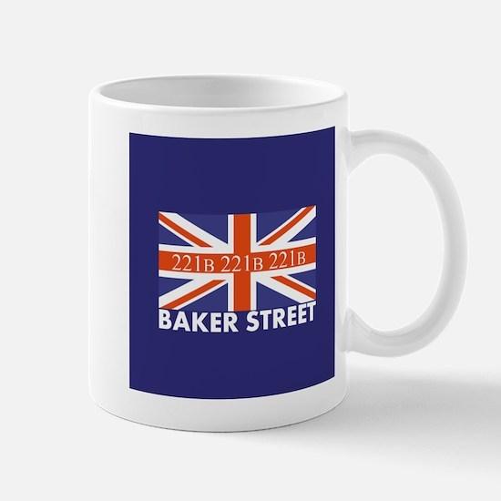 221B Union Jack Mugs