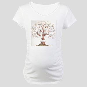 Ancestor Tree Maternity T-Shirt