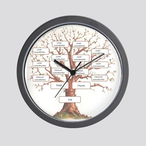 Ancestor Tree Wall Clock