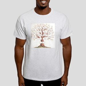 Ancestor Tree Light T-Shirt