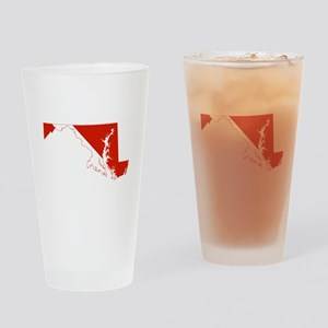 Maryland Diver Drinking Glass
