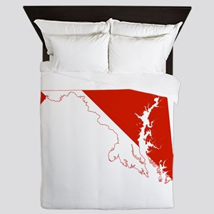 Maryland Diver Queen Duvet