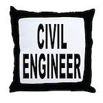Civil Engineer Throw Pillow