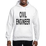 Civil Engineer (Front) Hooded Sweatshirt