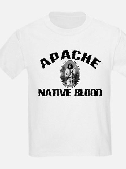 Apache Native Blood Kids T-Shirt