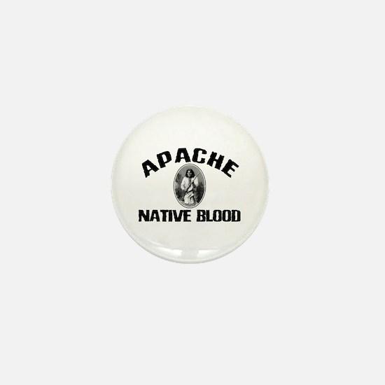 Apache Native Blood Mini Button