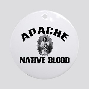 Apache Native Blood Ornament (Round)