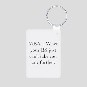 MBA Aluminum Photo Keychain