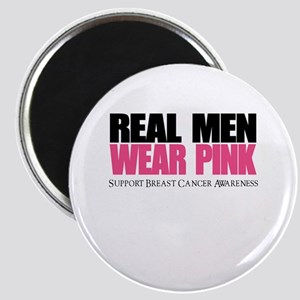 Real Men Wear Pink Magnets