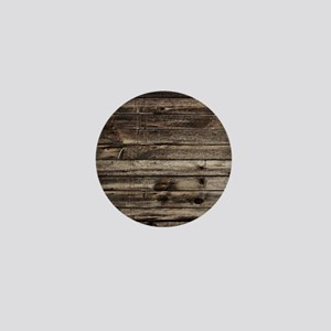 rustic barnwood western country Mini Button
