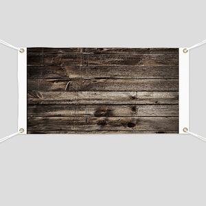 rustic barnwood western country Banner