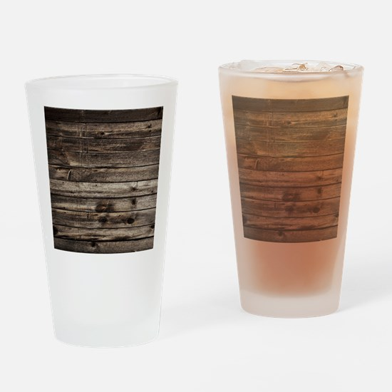 rustic barnwood western country Drinking Glass