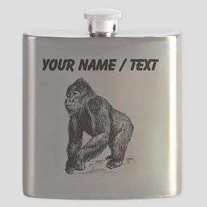Custom Gorilla Sketch Flask
